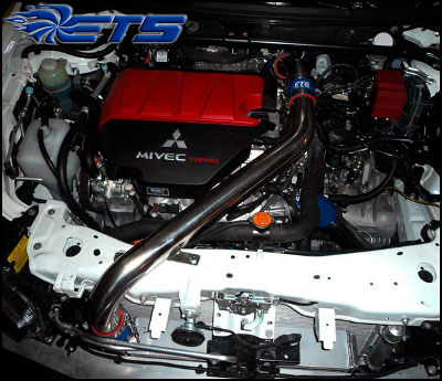 Ets Mitsubishi Evo X And Evolution X Upper And Lower Pipe
