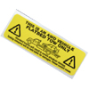 Warning Decal! All Wheel Drive Vehicle