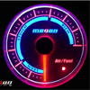 Megan Racing Air/Fuel Ratio Gauge - 52mm