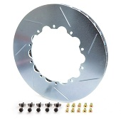 Girodisc 2pc Rear Rotor Ring Replacements - 2008-2014 EVO X