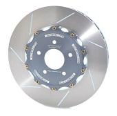 Girodisc Front Slotted 2pc Rotor Set - 2008-2014 EVO X