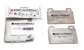 Girodisc Front Titanium Pad Shields - EVO X