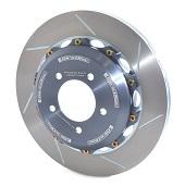 Girodisc Rear Slotted 2pc Rotor Set - 2008-2014 EVO X