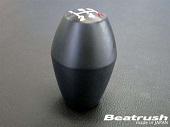 "Beatrush Shift Knob M10x1.25 ""Black"" Type C - EVO X"