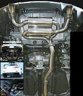 MXP Cat Back Exhaust System - EVO X 08+