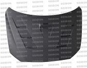 Seibon TS Style Dry Carbon Fiber Hood - EVO X