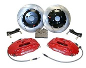 StopTech Front Big Brake Kit w/Red ST-60 Calipers - 2008-2014 EVO X