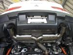 Ultimate Racing Performance Muffler - Evo X