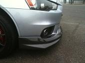 Bay Speed Aero Bs Style Carbon Fiber Front Lip - EVO X