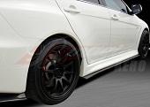 B-Magic XRS-2 Style Carbon Fiber Side Skirts - EVO X 2008-2012 w/Aero Sport Package