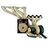 DEI Exhaust/Header Wrap Kit - with Tan Wrap & White HT Silicone Coating