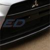 Rexpeed Carbon Fiber Type-F Bumper Splitter - EVO X