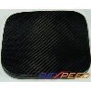 Rexpeed Carbon Fiber Fuel Cover - EVO X