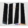 Rexpeed Carbon Fiber Pillar Trim - EVO X