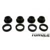 Torque Solution Drive Shaft Carrier Bearing Support Bushings - EVO X