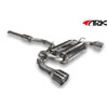 ARK DT-S Exhaust System - Polished Tip - EVO X