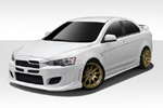Extreme Dimensions Evo X 4 Piece Duraflex I-Spec Body Kit - 4 DR