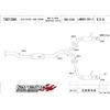 Tanabe Medallion Concept G Blue Catback Exhaust - EVO X 2008-2009