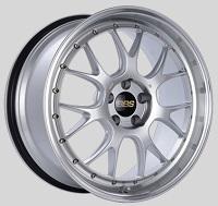 BBS LM-R 20x9.5 5x114.3 ET40 CB66 Diamond Silver Center Diamond Cut Lip Wheels