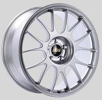 BBS RE 18x7.5 5x114.3 ET45 Diamond Silver Wheels -82mm PFS/Clip Required