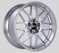 BBS RG-R 19x8.5 5x114.3 ET18 Sport Silver Polished Lip Wheels -82mm PFS/Clip Required