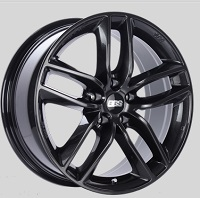 BBS SX 17x7.5 5x114.3 ET42 Crystal Black Wheels -82mm PFS/Clip Required