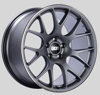 BBS CH-R 20x10.5 5x114.3 ET24 CB66 Satin Titanium Polished Rim Protector Wheels