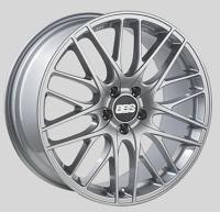 BBS CS 19x8.5 5x114.3 ET42 Sport Silver Wheels -82mm PFS/Clip Required