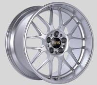 BBS RG-R 19x9.5 5x114.3 ET22 Sport Silver Polished Lip Wheels -82mm PFS/Clip Required