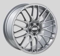 BBS CS 18x8 5x114.3 ET40 Sport Silver Wheels -82mm PFS/Clip Required