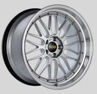 BBS LM 20x10.5 5x114.3 ET20 CB66 Diamond Silver Center Diamond Cut Lip Wheels