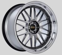 BBS LM 20x10.5 5x114.3 ET20 CB66 Diamond Black Center Diamond Cut Lip Wheels