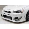 Ings +1 N-Spec FRP Front Bumper - EVO X