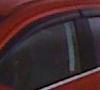 Mitsubishi EVO X Window Vent Shades