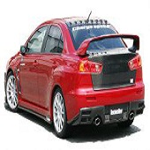 ChargeSpeed Bottom Line Type 2 FRP Full Kit - EVO X