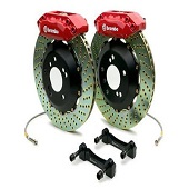 Brembo GT 345mm Rear 4 Piston Big Brake Kit - EVO X