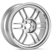 "Enkei Racing RPF1 18"" Rims Bright Silver Paint - EVO X"