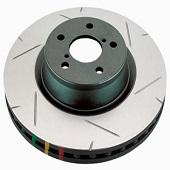 DBA Rear Slotted 4000 Series Rotors - 2008-2014 EVO X