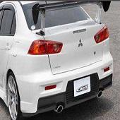 C West Rear Bumper PFRP - EVO X