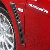 ChargeSpeed FRP Front Fender Duct - EVO X