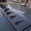Rexpeed Carbon Vortex Generator - EVO X NON SSS Flat Roof