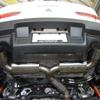 Ultimate Racing Dual Exit Catback Exhaust: EVO X